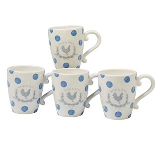 Certified International Urban Farmhouse 22-ounce Mugs (Set of 4)