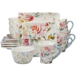 Certified International Beautiful Romance 16-piece Dinnerware Set  sc 1 st  Overstock & Spring Dinnerware For Less | Overstock