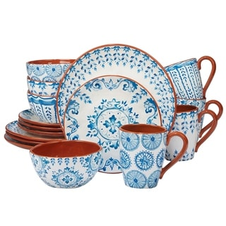Certified International Porto 16-piece Dinnerware Set