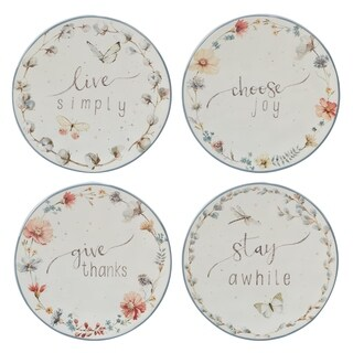 Certified International Country Weekend Canape Plates (Set of 4)