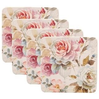 Certified International Beautiful Romance Salad Plates (Set of 4)