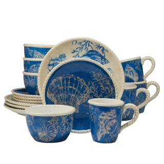Certified International Seaside 16-piece Dinnerware Set