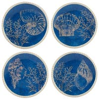 Certified International Seaside Dessert Plates (Set of 4)