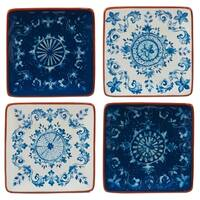 Certified International Porto Canape Plates (Set of 4)