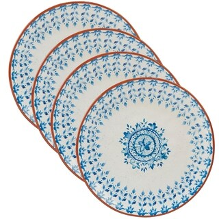 Certified International Porto Dinner Plates (Set of 4)