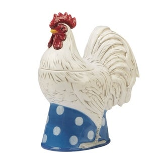 Certified International Urban Farmhouse 3-d Rooster Cookie Jar