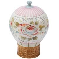 Certified International Beautiful Romance 3-d Balloon Cookie Jar