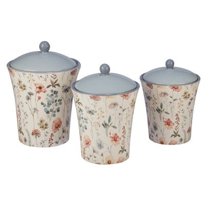 Certified International Country Weekend 3-piece Canister Set