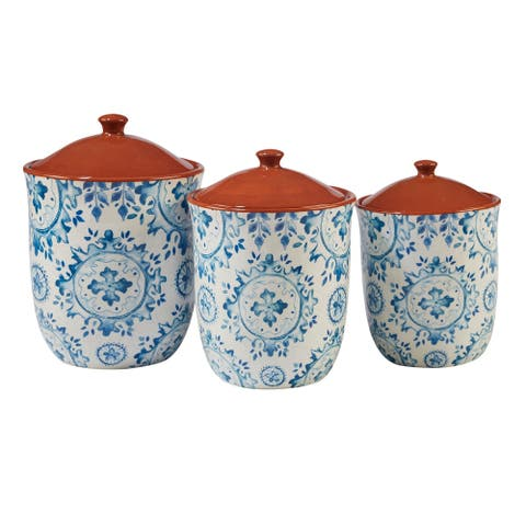 Certified International Porto 3-piece Canister Set