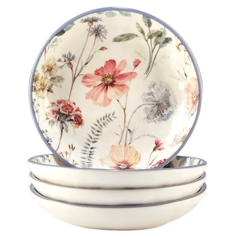 Certified International Country Weekend Soup/Pasta Bowls (Set of 4)
