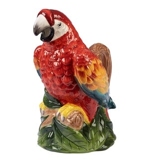 Certified International Paradise 44-ounce 3-d Parrot Pitcher