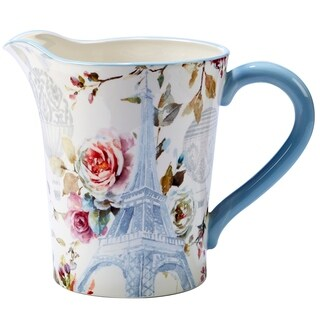 Certified International Beautiful Romance 3.5-quart Pitcher