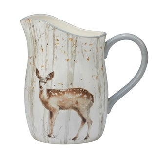 Certified International A Woodland Walk 96-ounce Pitcher