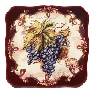 Certified International Vintners Journal Square Platter