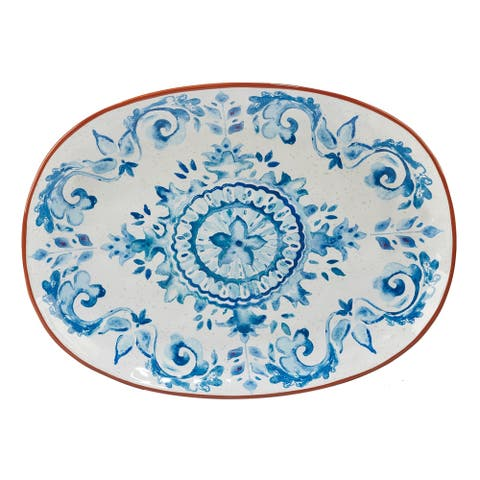 Certified International Porto Oval Platter