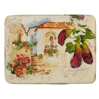 Certified International Piazzette Rectangular Platter