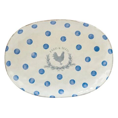 Certified International Urban Farmhouse Oval Platter