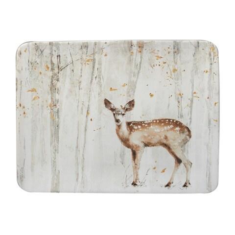 Certified International A Woodland Walk Rectangular Platter