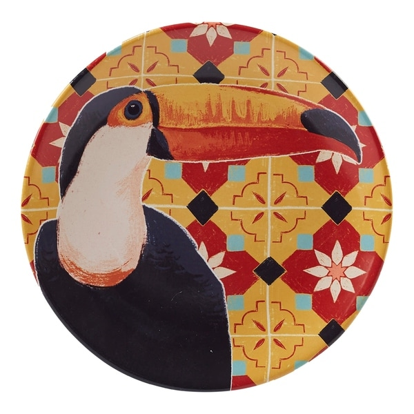 Certified International Paradise Round Platter