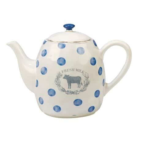Certified International Urban Farmhouse 40-ounce Teapot