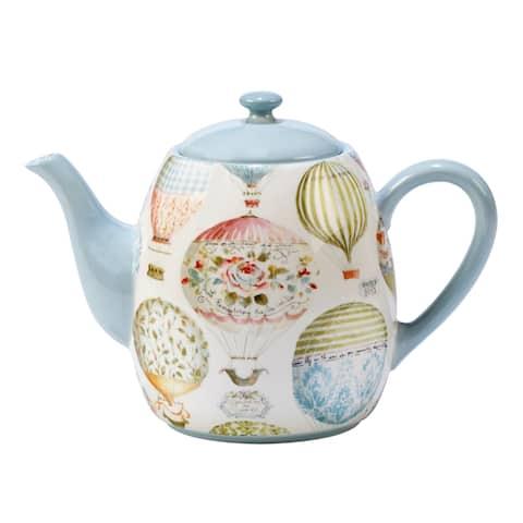 Certified International Beautiful Romance 40-ounce Teapot