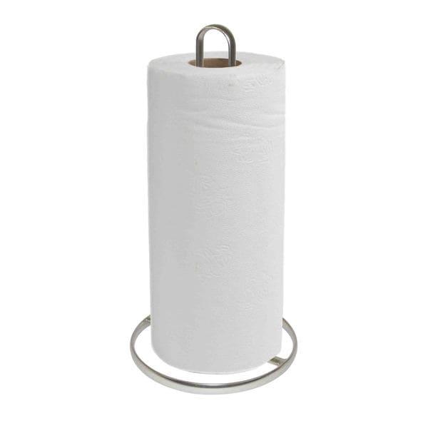 Home Basics Satin Nickel Paper Towel Holder
