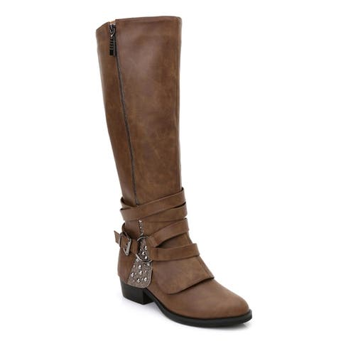 Ann Creek Women's 'Rawson' Buckle Strap Boots
