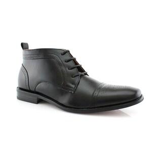 Ferro Aldo Harvey MFA806005A Men's Ankle-High Dress Shoes For Work or Casual Wear
