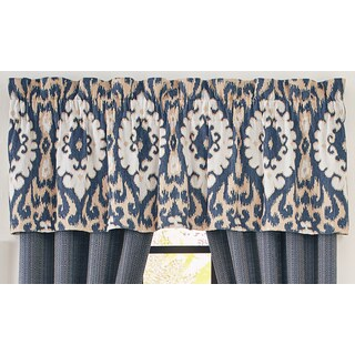 Croscill Kayden Tailored Window Valance - 72 x 20