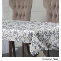 Exclusive Fabrics Rococo Designer Faux Silk Taffeta Outdoor Table Cloth