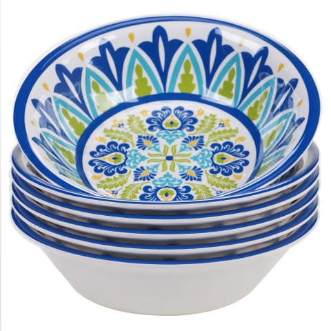 Certified International Martinique Round All Purpose Bowl (Set of 6)