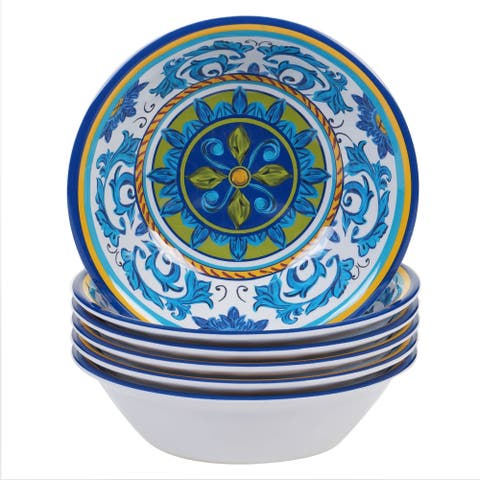 Certified International Lucca Round All Purpose Bowl (Set of 6)