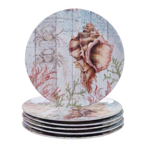 Certified International Sanibel Melamine Dinner Plate (Set of 6)
