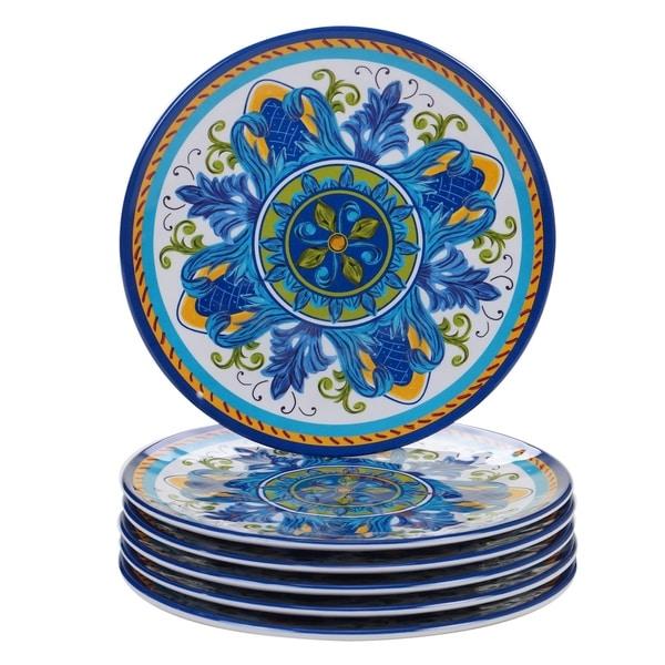 Certified International Lucca Melamine Salad/Dessert Plate (Set of 6). Opens flyout.