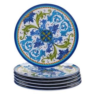 Link to Certified International Lucca Melamine Dinner Plate (Set of 6) Similar Items in Dinnerware