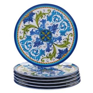 Certified International Lucca Melamine Dinner Plate (Set of 6)