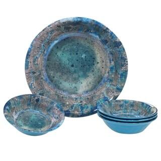 Certified International Radiance 5-piece Melamine Salad/Serving Set