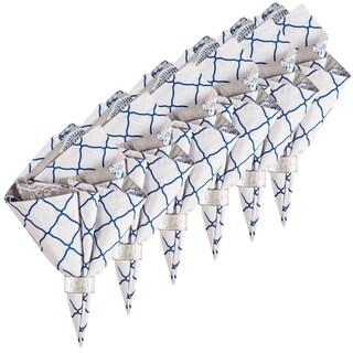 Annabelle Blue Napkin Set 6 - N/A