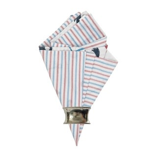 Nautical Crew Reversible Napkin