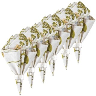 Anessa Cotton Reversible Napkin Set of 6