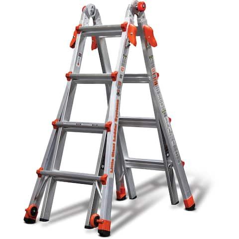 Little Giant Aluminum LT-17' Multipurpose Ladder