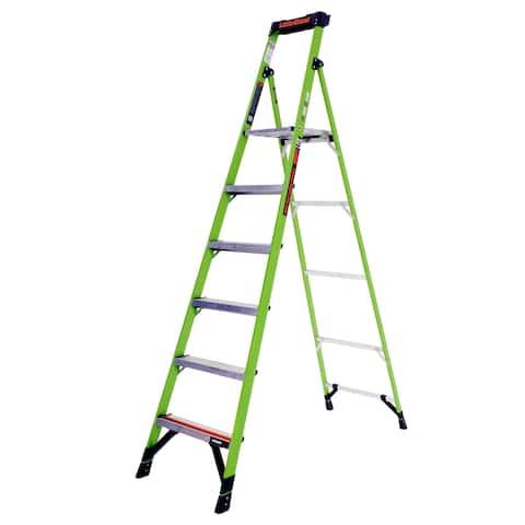 Little Giant Fiberglass MightyLite 8' Stepstool Step Ladder