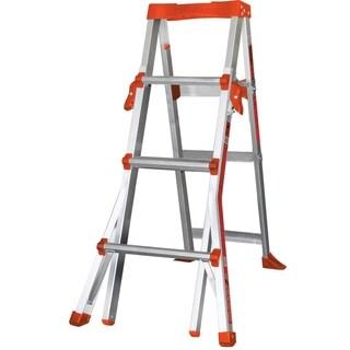 Little Giant Aluminum QuickStep 4'-6' Stepstool Step Ladder
