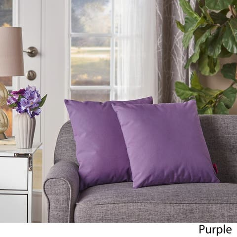 Kaffe Square Pillow (Set of 2) by Christopher Knight Home