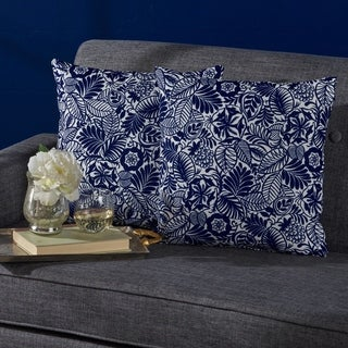 Leda Square Print Pillow (Set of 2) by Christopher Knight Home