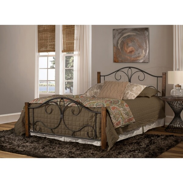 Hillsdale Destin Bed - Queen - Metal Bed Rail Not Included
