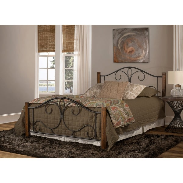 Hillsdale Destin Bed - King - Metal Bed Rail Not Included