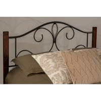 Hillsdale Destin Black Metal Twin Headboard