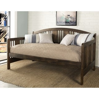 Hillsdale Dana Brushed Acacia Wood Daybed