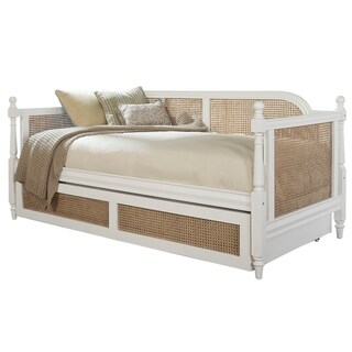 Hillsdale Melanie Off-white Natural Cane Wood Daybed